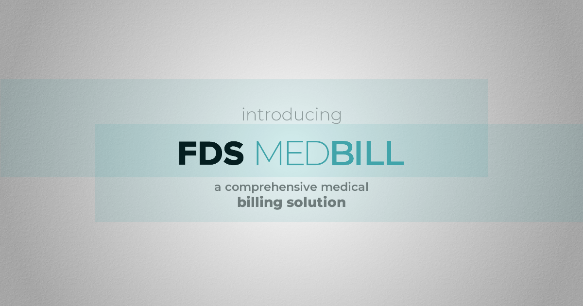 fds medbill - medical billing solution