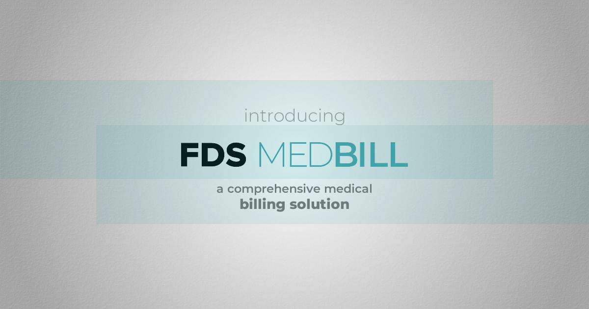 fds medbill - medical billing solution