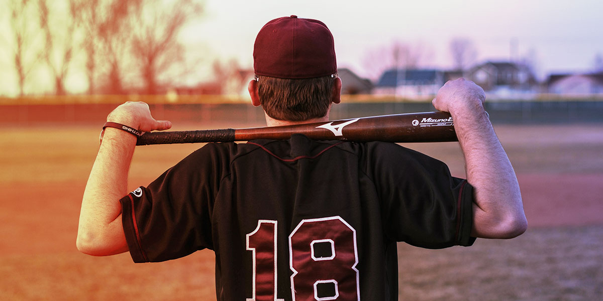 baseball player with bat - covid-19 treatment at community pharmacies