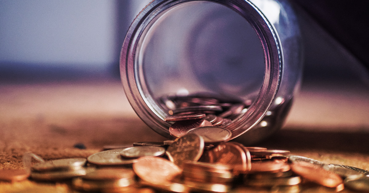 coins spilling out of a jar - recover lost pharmacy revenue