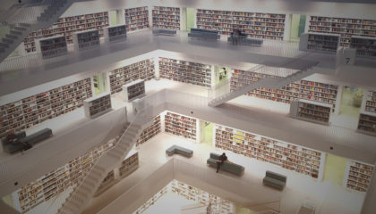 library staircases - business intelligence - pharmacy data analytics